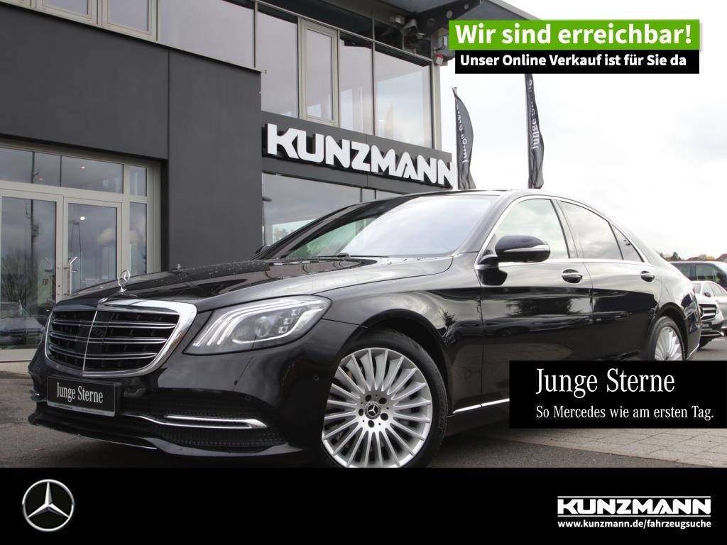 Mercedes-Benz S 400 d 4M Airmatic Multibeam Panorama Head-Up, Jahr 2017, Diesel