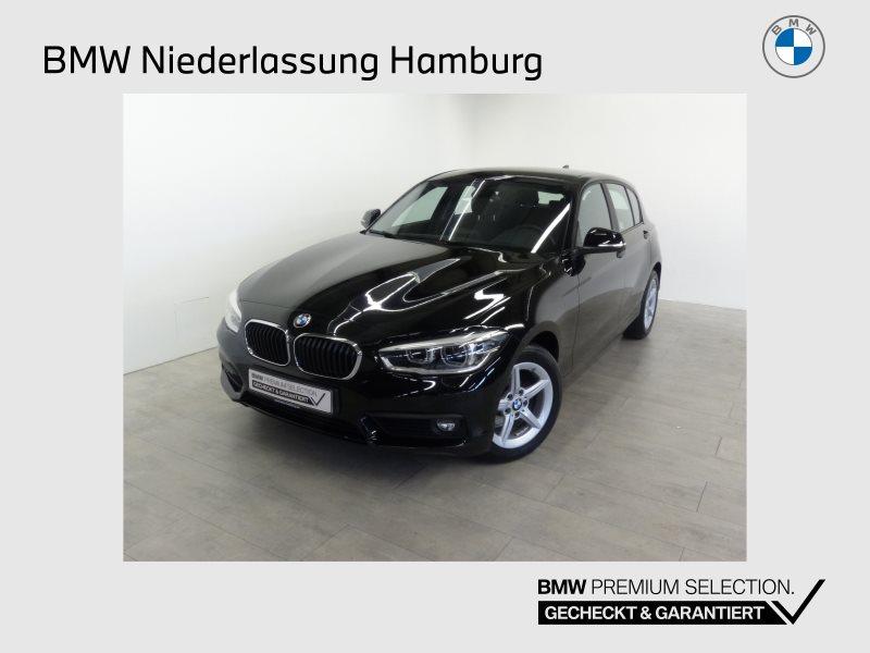 BMW 118i 5-Türer Advantage LED Navi Bus. Tempomat, Jahr 2017, Benzin