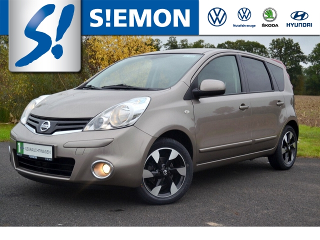 Nissan Note I-Way+ 1.5 dCi Klima Navi PDC Temp NSW ZV BT, Jahr 2013, Diesel
