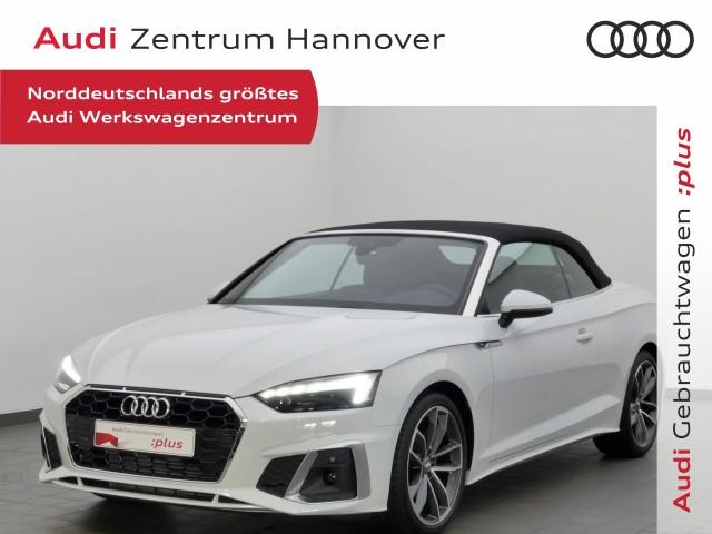 Audi A5 Cabrio S line 40 TFSI S tronic, Jahr 2020, Benzin
