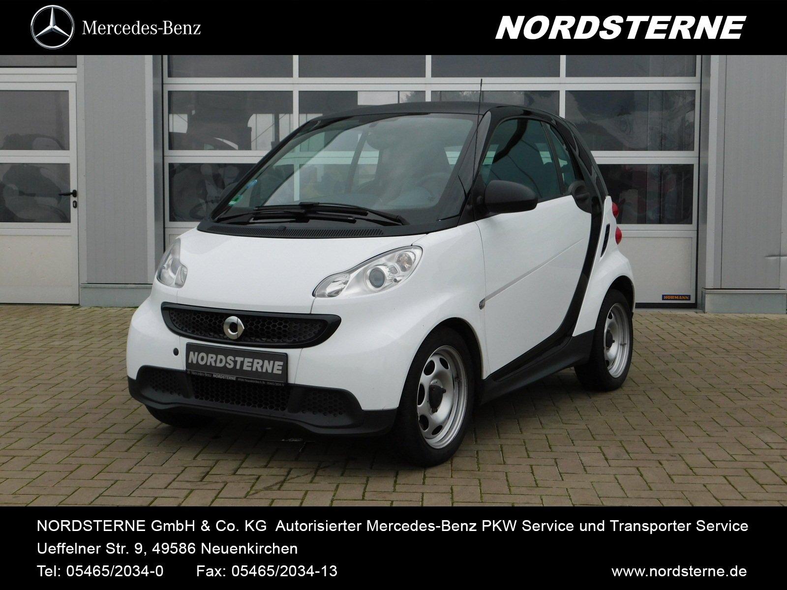 smart fortwo coupé mhd 45 kW Automatik KLIMAANLAGE BC, Jahr 2014, Benzin