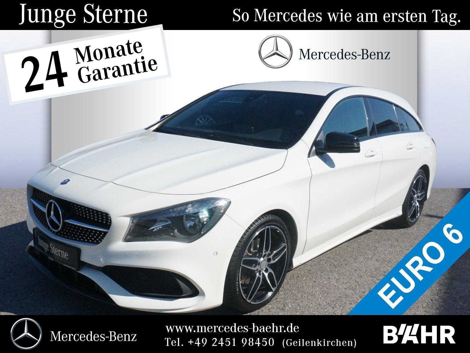 Mercedes-Benz CLA 200 d SB AMG+Night/Navi/SHZ/Park-Pilot/LMR18, Jahr 2016, Diesel