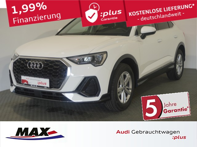 Audi Q3 Sportback 35 TFSI 5J GAR+LED+VC+AHK+NAVI+ALU+, Jahr 2020, Benzin