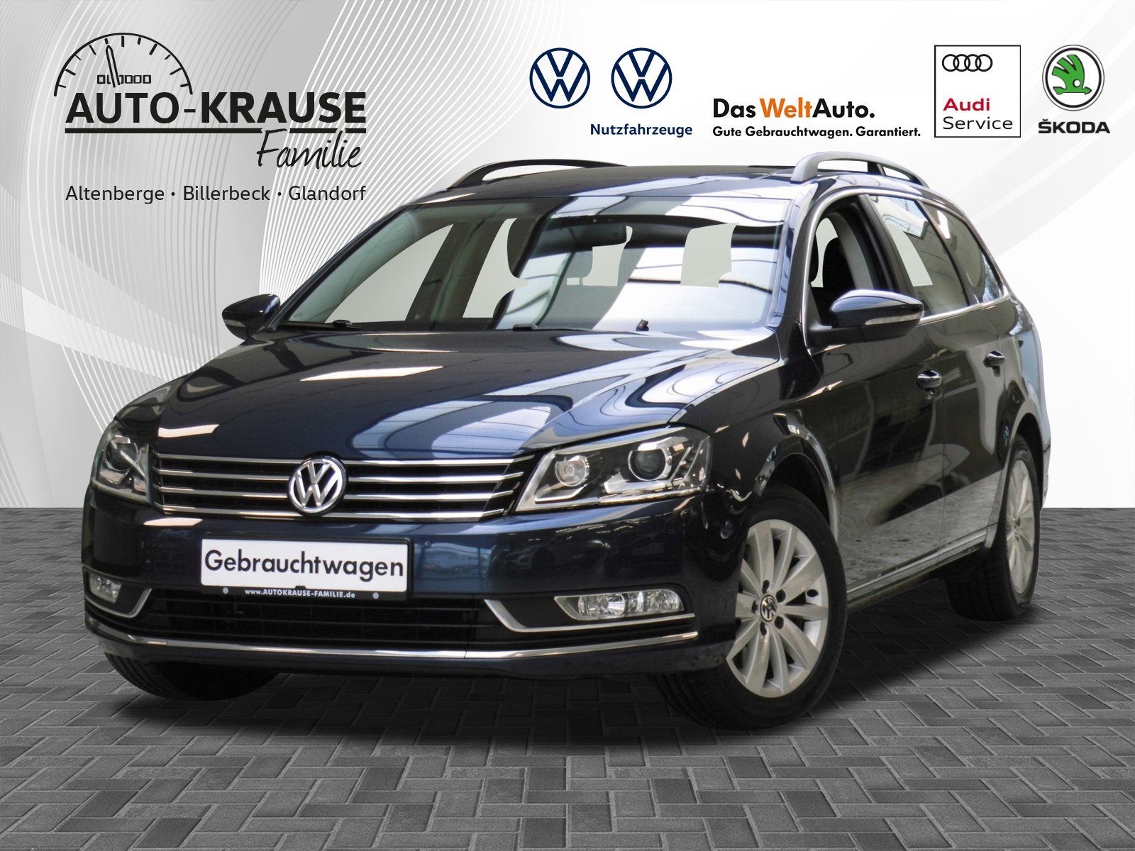 Volkswagen Passat 2.0 TDI BMT Comfortline, Jahr 2013, Diesel