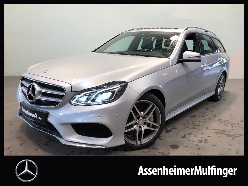 Mercedes-Benz E 500 4matic T AMG **COMAND/SHD/Airmatic, Jahr 2015, petrol