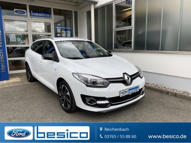 Renault Megane III Grandtour BOSE Edition TCe130+Standheizung+PDC, Jahr 2014, Benzin