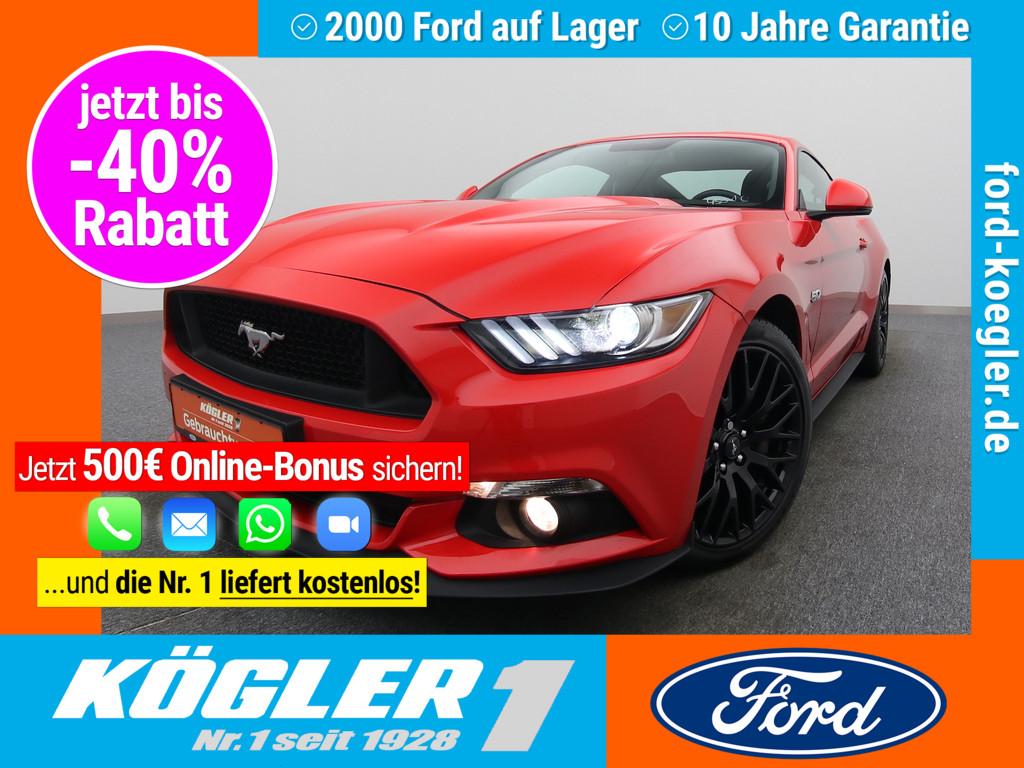 Ford Mustang Fastback 421PS V8 Aut./Premium-P.II, Jahr 2017, Benzin