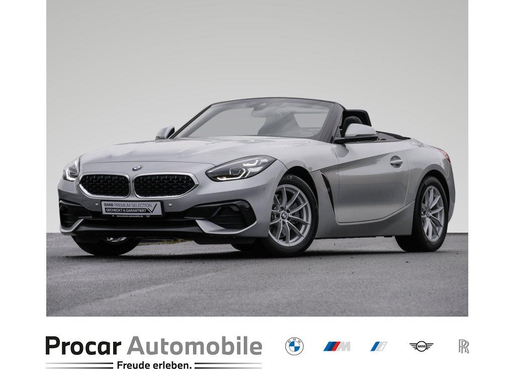 BMW Z4 sDrive20i Automatik Head-Up HiFi LED RFK Leder Bluetooth Freisprechen Multifunkionslenkrad LM-Räder, Jahr 2019, Benzin