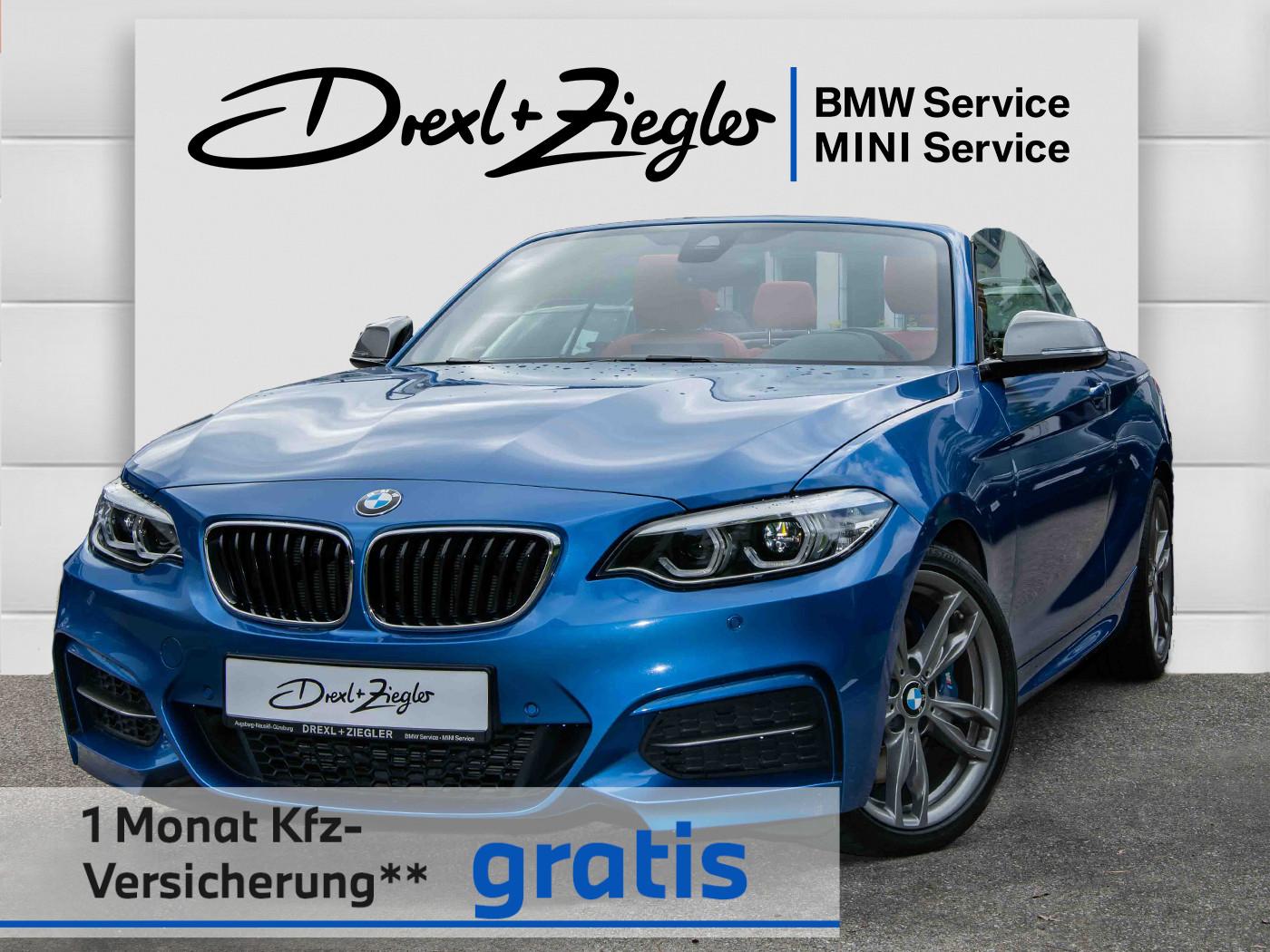 BMW M240i xDrive Cabrio N-Prof H&K DAB Kamera Komfzg, Jahr 2018, Benzin