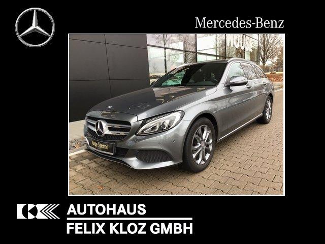 Mercedes-Benz C 180 T Avantgarde/Navi/Parktronic/LED/Kamera, Jahr 2016, Benzin