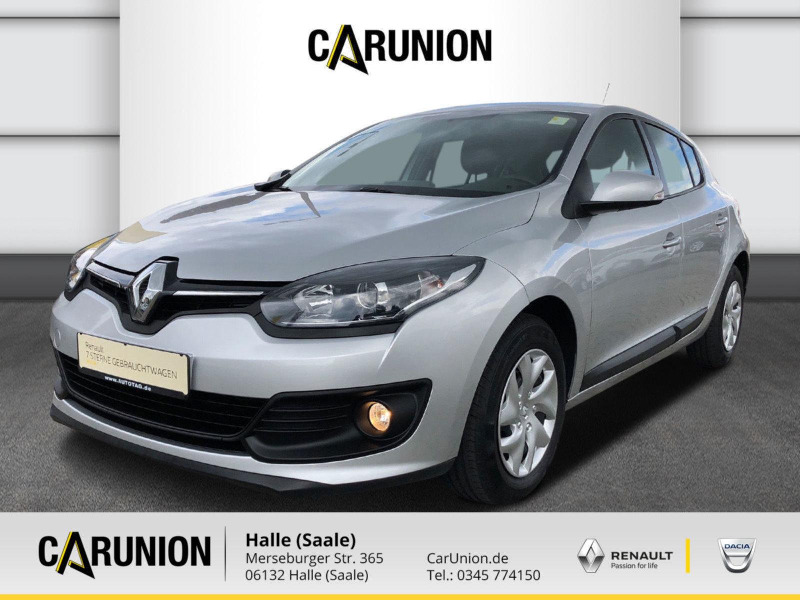 Renault Megane Navi Klima, Jahr 2015, Benzin