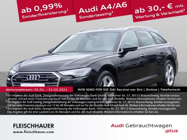 Audi A6 Avant 45 TDI quattro design Navi+LED+WR+19''+Kamera+DAB+Leder, Jahr 2019, Diesel
