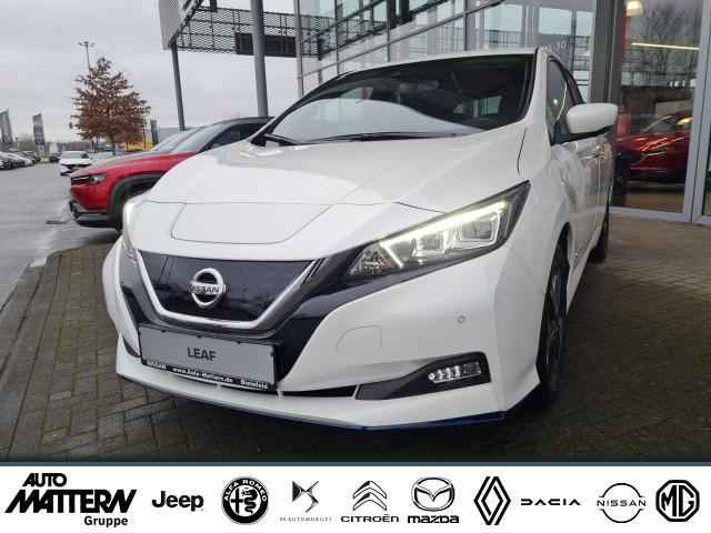 Nissan Leaf e+Tekna 62kWh Leder Bose ProPilot LED Klima, Jahr 2021, Elektro