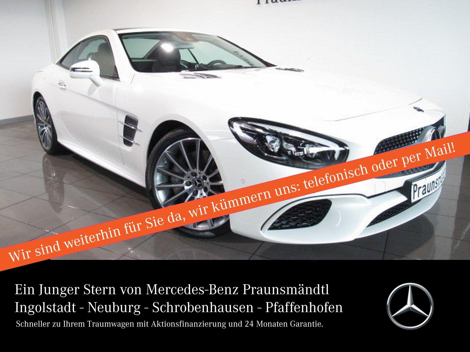 Mercedes-Benz SL 500 AMG -38% DAB/MAGIC SKY/ABC/AIRSCARF/Sound, Jahr 2018, Benzin