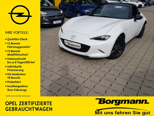 Mazda MX-5 Sports-Line 1.5 Klimaauto. - Sitzheizung - Navi - DAB, Jahr 2016, petrol
