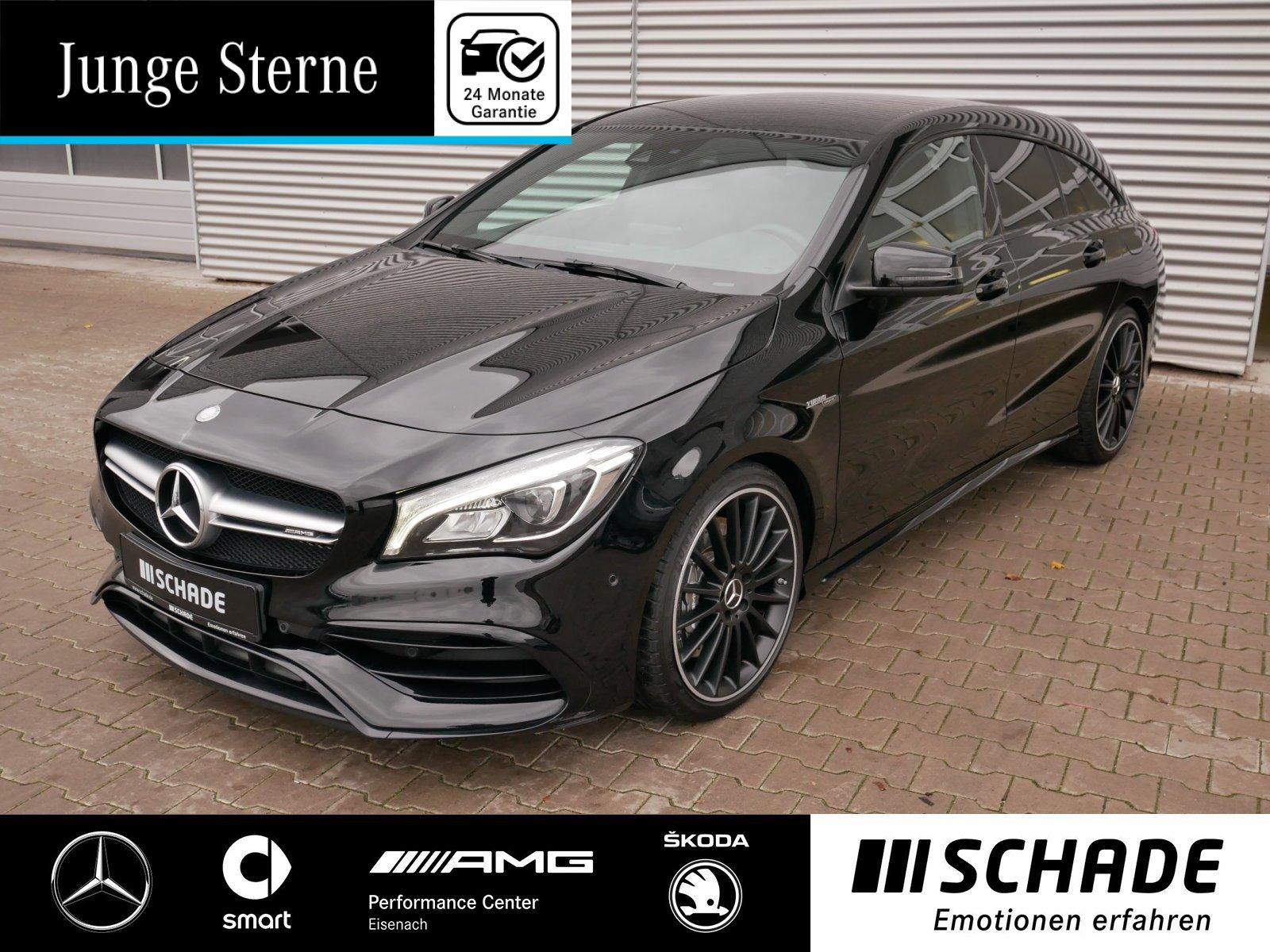 Mercedes-Benz CLA 45 4M SB Comand*LED*Night*Kamera*AppleCarPl., Jahr 2016, Benzin