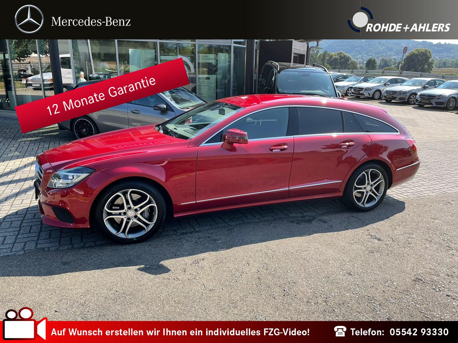 Mercedes-Benz CLS 350 SB BT 4M NAVI+DISTRONIK+LED ILS+AHK+MEMO, Jahr 2014, Diesel