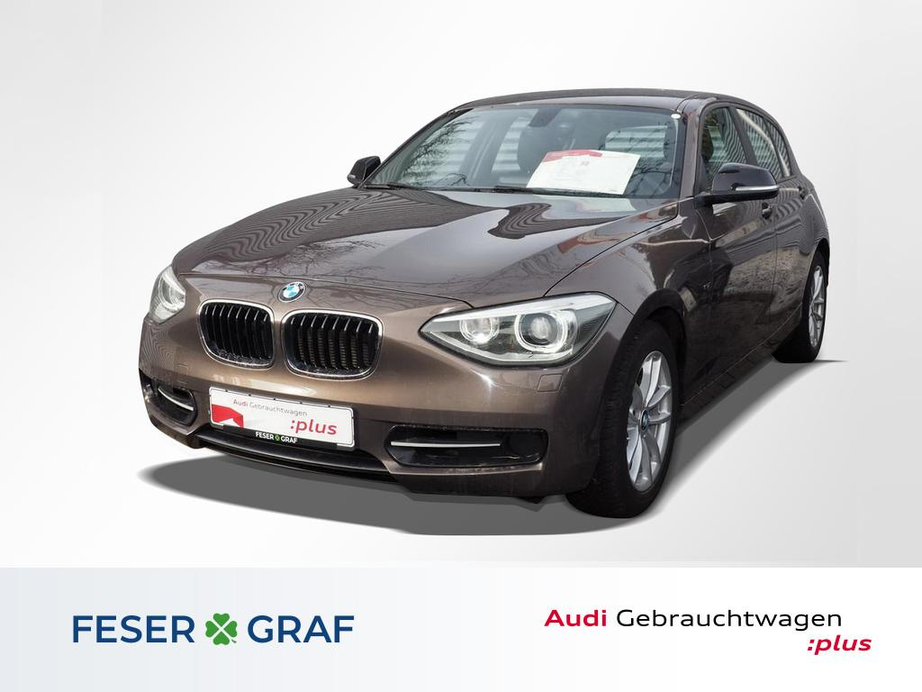 BMW 118 Navi Sitzhzg. Xenon Klimaautomatik PDC, Jahr 2014, Benzin