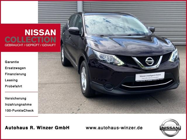 Nissan Qashqai Visia, Jahr 2015, Benzin