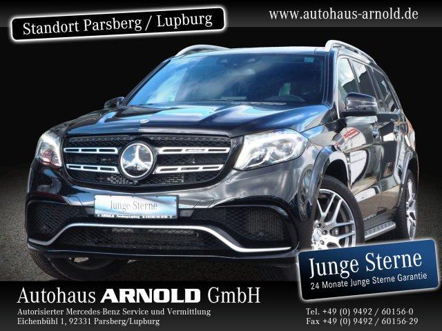 Mercedes-Benz Mercedes-AMG GLS 63 4M Fahrass.-P. AHK Panorama, Jahr 2019, Benzin