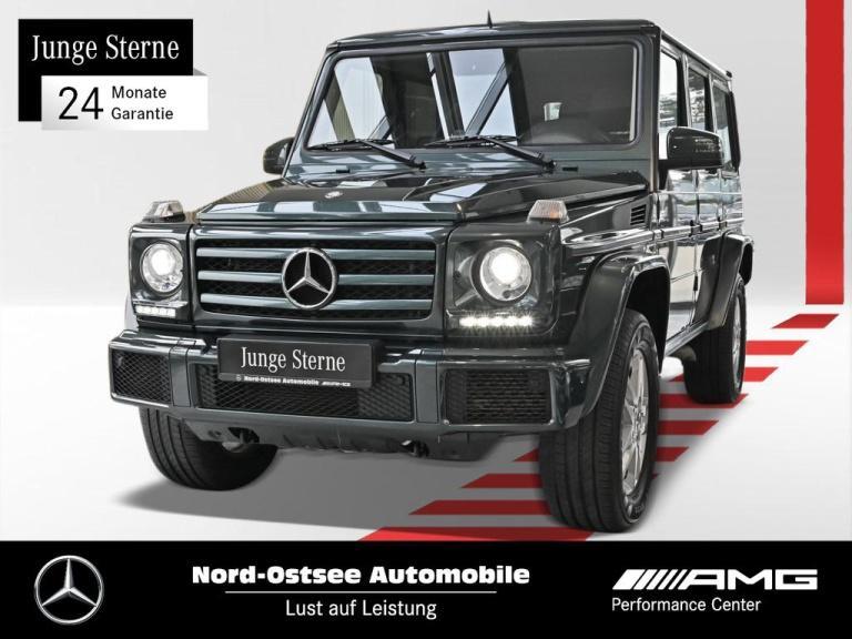 Mercedes-Benz G 350 d Comand AHK 7G-Tronic Kamera Sitzheizung, Jahr 2017, Diesel