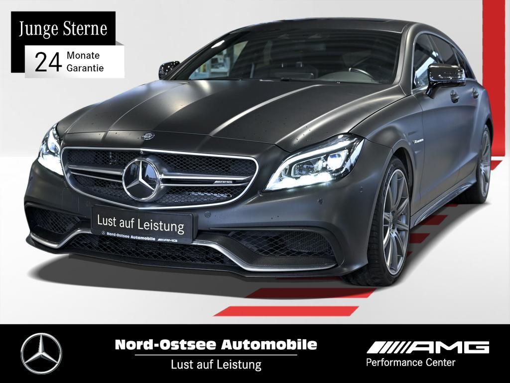 Mercedes-Benz CLS 63 S AMG 4M SB Comand 360° Distr. Burmester, Jahr 2014, petrol