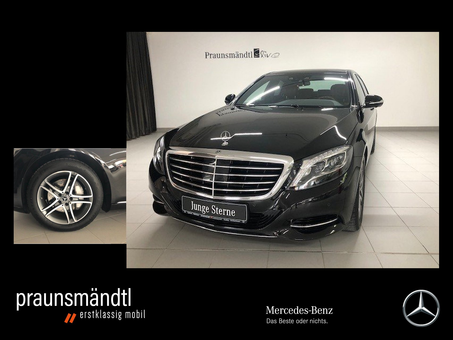 Mercedes-Benz S 350 d LED/Pano/360/Chauffeur/Distro./AHK/Sound, Jahr 2017, Diesel