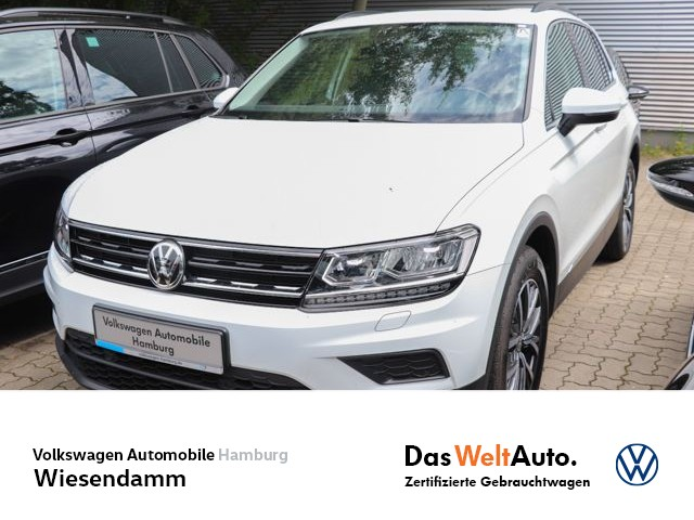 Volkswagen Tiguan 2.0 TDI DSG Comfortline LM Std.Hzg EGD Klimaautomatik Navi LED, Jahr 2019, Diesel