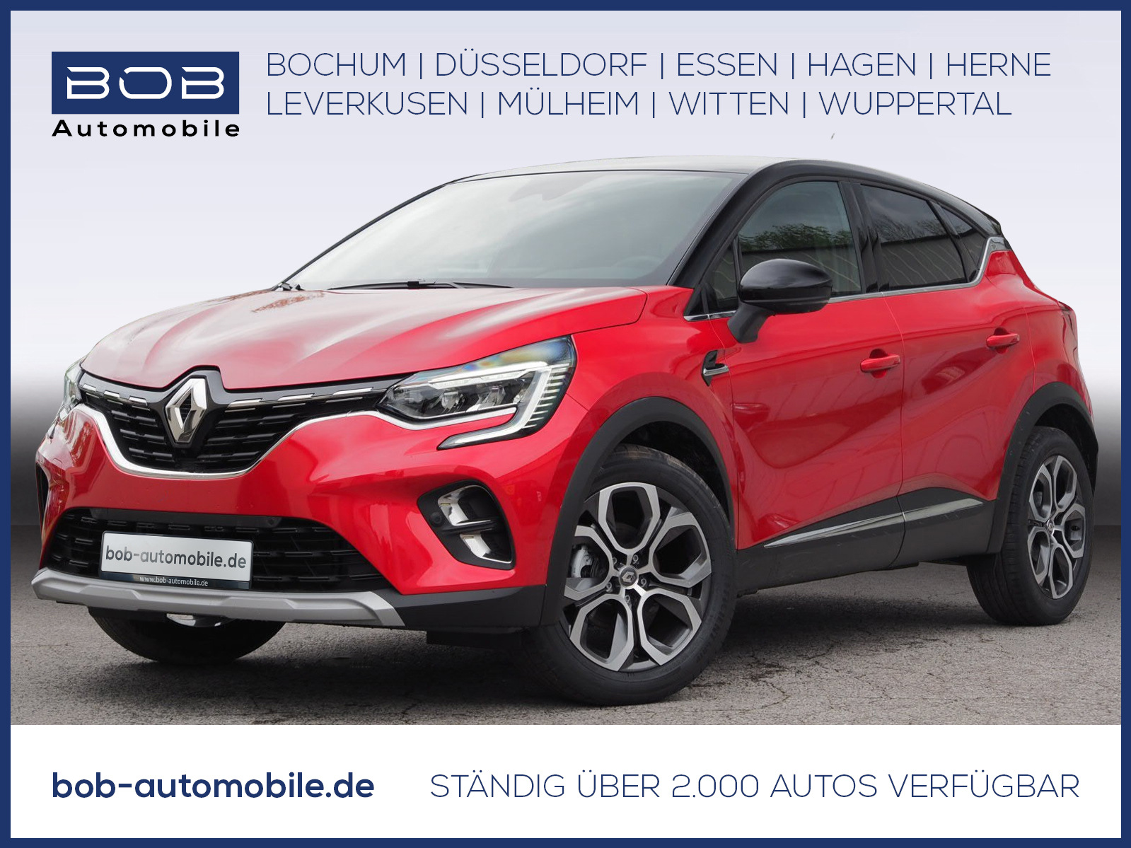 Renault Captur INTENS TCe 140 EDC 360°City-P., Jahr 2021, Benzin