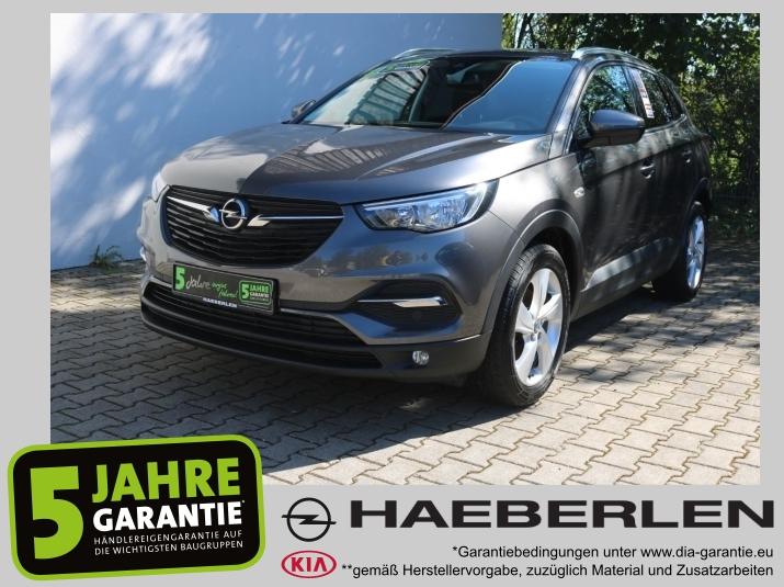 Opel Grandland X 1.6 D Edition Sitzh*PDC*Lenkradheiz*, Jahr 2017, Diesel