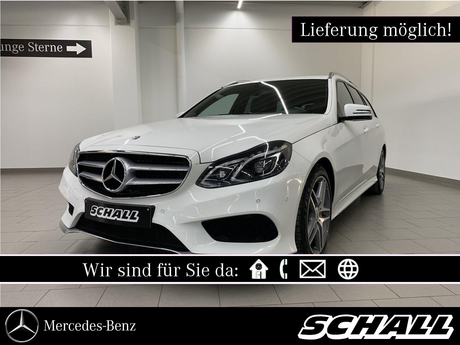 Mercedes-Benz E 250 BT T AMG+AHK+STANDHZG+LED INT.+PARKTRONIC, Jahr 2016, Diesel