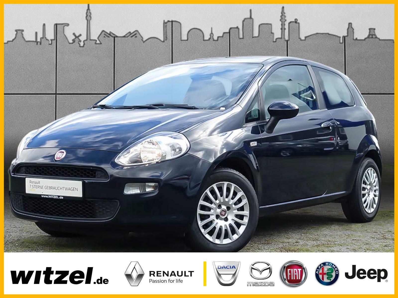 Fiat Punto MYSTYLE 1.2 KLIMA RADIO ZV ELFH, Jahr 2014, Benzin