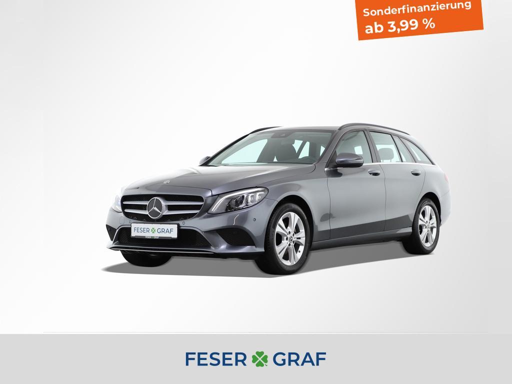 Mercedes-Benz C 200 d T 9 Gang *Comand*LED*Parkassistent*LED*, Jahr 2020, Diesel
