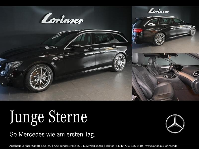 Mercedes-Benz E 63 AMG 4M+ T PANORAMA/DISTRONIC/360°/SITZKLIMA, Jahr 2019, Benzin