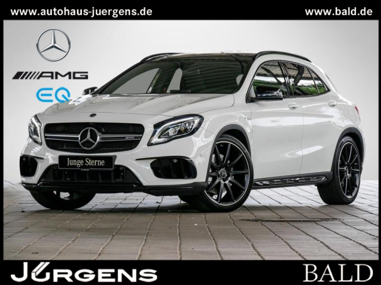 Mercedes-Benz GLA 45 AMG 4M Navi/LED/Pano/Park-Pilot/SHZ/20', Jahr 2017, Benzin