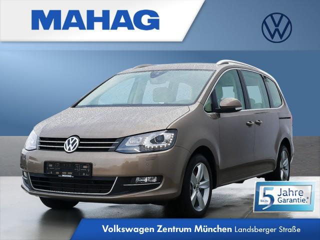 """Volkswagen Sharan Highline 2.0 TDI 6-Gang - 7-Sitzer-Paket - Bi-Xenon-Scheinwerfer - Rückfahrkamera - Navigationsfunktion """"Discover Media"""" - Spurhalteassistent """"Lane Assist"""" - """"Climatronic"""" mit 3-Zonen - Diebstahlwarnanlage """"Plus"""" - ACC SHARAN HLBMT 110 TDIM6F, Jahr 2020, diesel"""