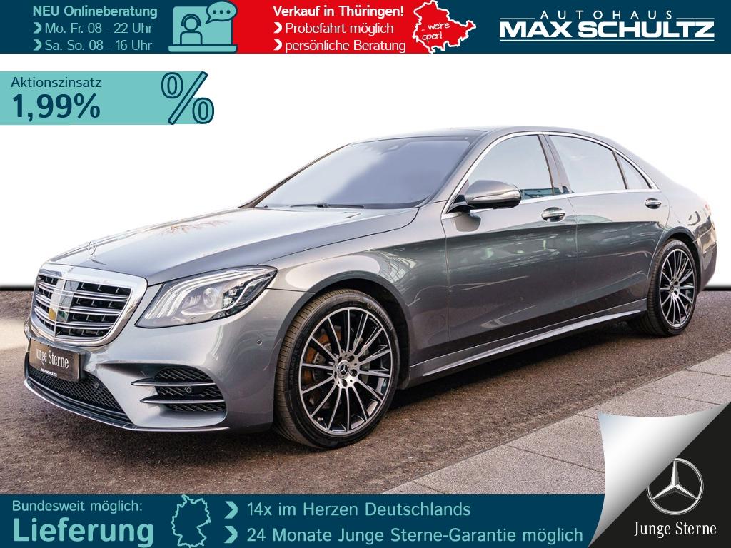 Mercedes-Benz S 560 4MATIC Limousine lang AMG*Sitzklima, Jahr 2019, Benzin