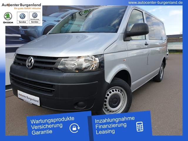 Volkswagen T5 Transporter 2.0 TDI Kasten-Kombi KLMA FUNK ZV, Jahr 2013, Diesel