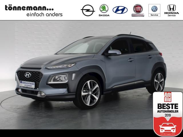 Hyundai Kona Style, Rückfahrkamera, Teilleder, Freisprecheinr., Sitzheizung, Jahr 2019, petrol