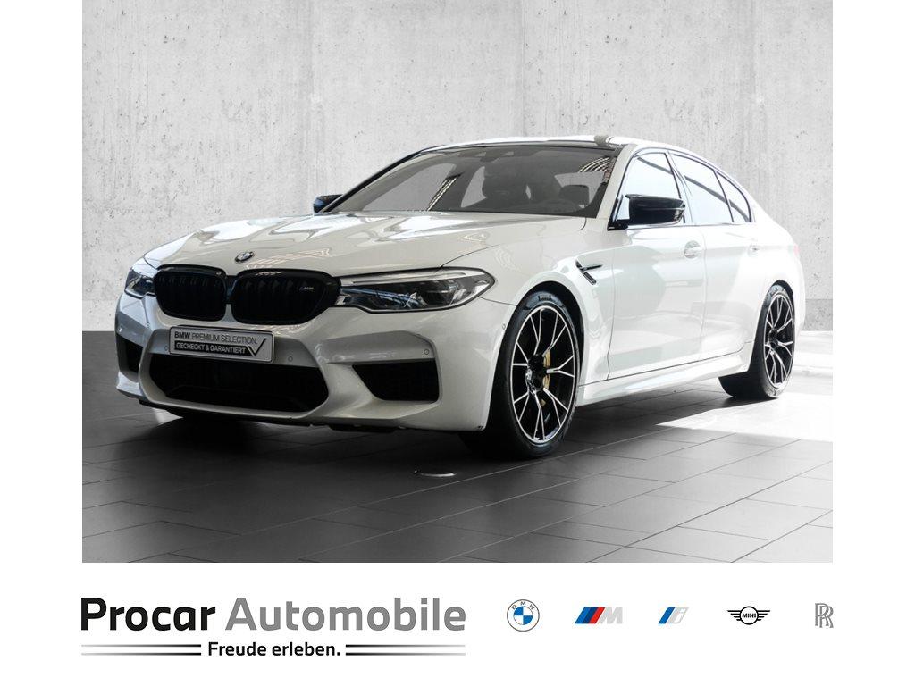BMW M5 Limousine Competition+M Drivers Package+M Track Pack+M Carbon Bremsen+Sonderlackierung, Jahr 2018, Benzin