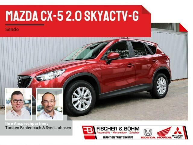 Mazda CX-5 2.0 SKYACTIV-G SENDO mit Navigation, Jahr 2013, Benzin