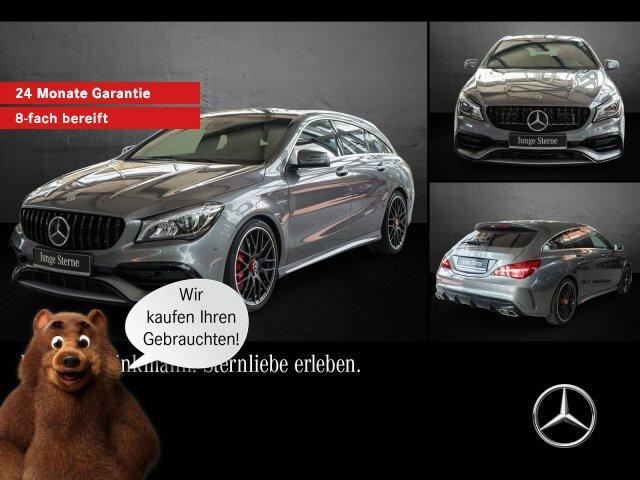 Mercedes-Benz Mercedes-AMG CLA 45 4MATIC Shooting Brake Comand, Jahr 2018, Benzin