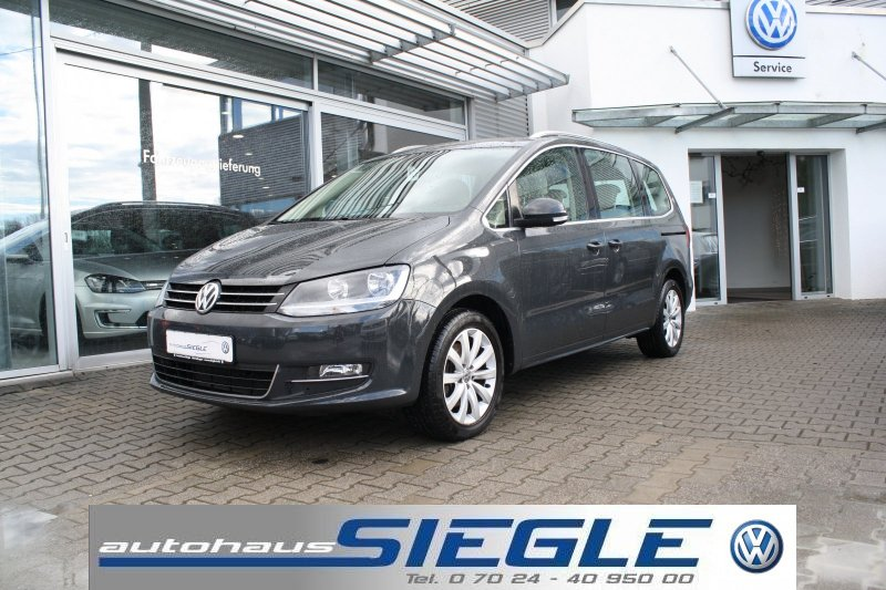 Volkswagen Sharan 2.0 TDI Highline*Navi*PDC*GRA*AHK, Jahr 2015, Diesel