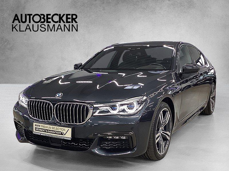 BMW 730d xDrive LIMO M SPORTPAKET NAVI PROF LASER HEAD UP GLASDACH, Jahr 2018, Diesel
