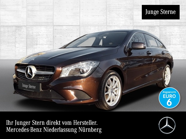 Mercedes-Benz CLA 250 SB 7G- Xenon Kamera Navi Easy-Pack, Jahr 2015, petrol