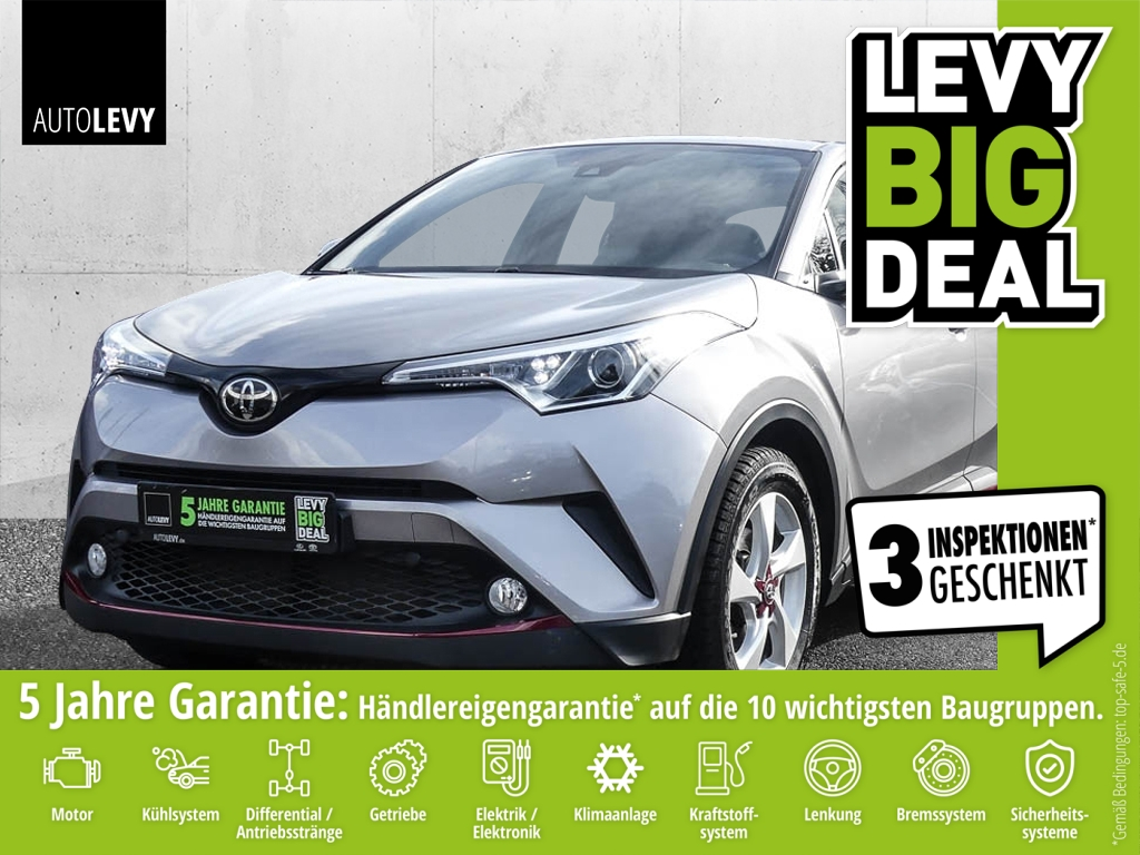 Toyota C-HR 1.2 Turbo Flow *Navi*Safety Sense*Kamera*, Jahr 2018, Benzin