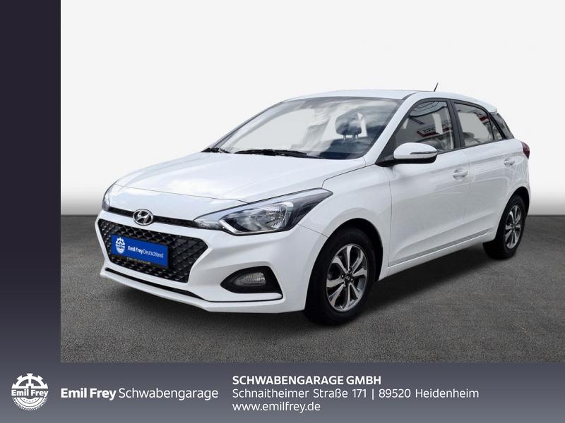 Hyundai i20 1.2 Select Klima Tempomat, Jahr 2018, Benzin