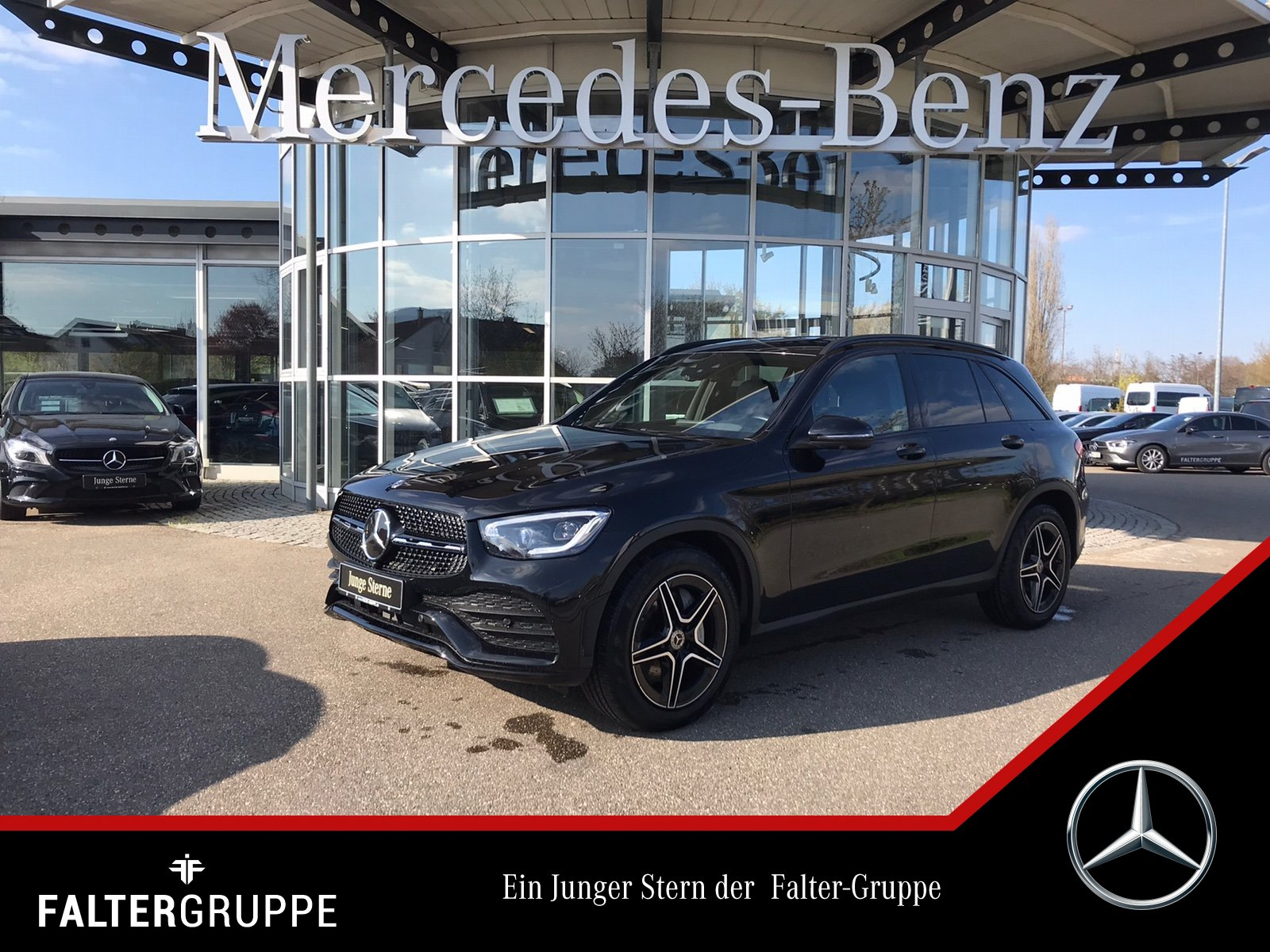 Mercedes-Benz GLC 400d AMG Night DISTR ABC HUD 360°MLED elHeck, Jahr 2019, Diesel