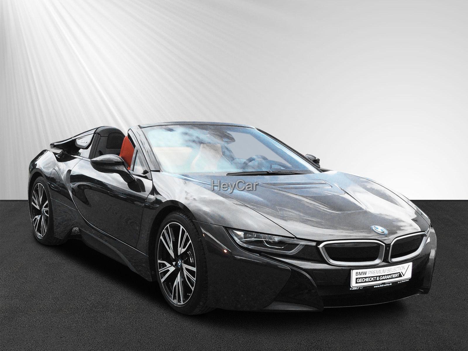 BMW i8 Roadster Laser HUD Leas. ab 1.299,- br.o.Anz., Jahr 2019, Hybrid