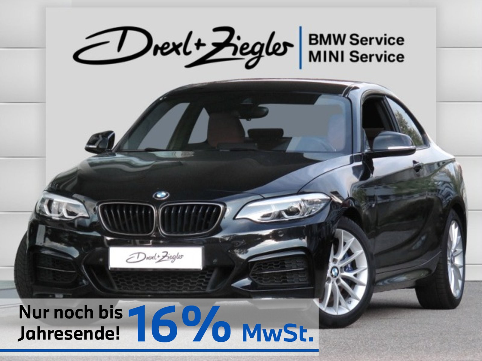 BMW M240i Coupe Leder NaviProf H&K Komfzg DrAssist., Jahr 2019, Benzin